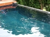 Pool painted in black Epotec