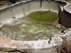 Dirt in swimmming pool