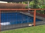 Ex vinyl liner pool restored with EPOTEC Royal Blue in Mackay QLD 2016