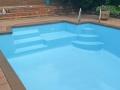 EPOTEC Bondi Mid Blue on fibreglass pool 02