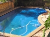 Pool painted Royal Blue - Pacific