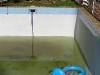 Emptying pool