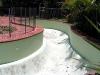 Swimming pool before resurfacing