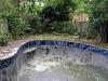 old rendered pool