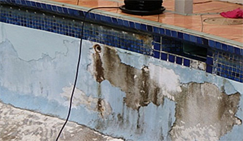 Poor Drainage Paint For Your Pool