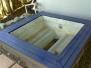 spa painted with bondi
