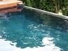 Pool painted in black Epotec