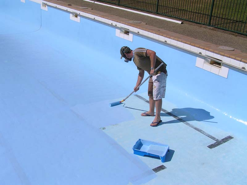 Large Swimming Pools Paint For Your Pool