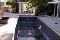 Pools painted with Slate Grey colour