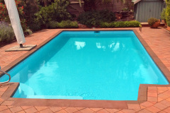 Fibreglass pool renovation in Maryborough VIC 2016