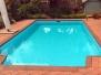 Fibreglass pool renovation in Maryborough VIC 2016