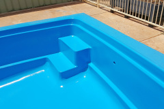 Fibreglass pool restoration in Whylla Stuart SA 2016