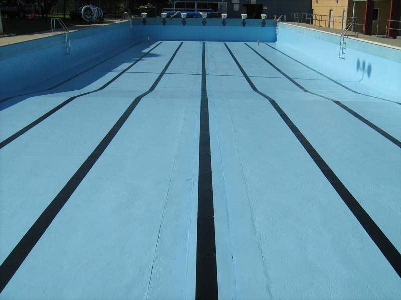 Picton Olympic Pool  with Epotec applied.