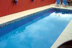 Pools painted with  Tasman colour