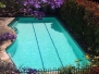 Pools painted with White