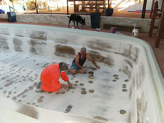 Fibreglass Pool And Epotec Paint For Your Pool